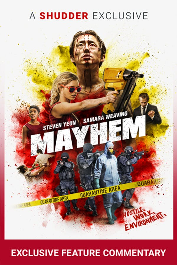 Mayhem Filmmakers' Commentary