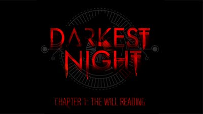 Chapter 1 - The Will Reading