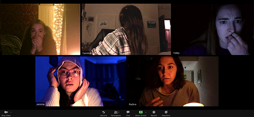 HOST And The Cultural Relevance Of Found Footage, Facehugger Masks, And More!